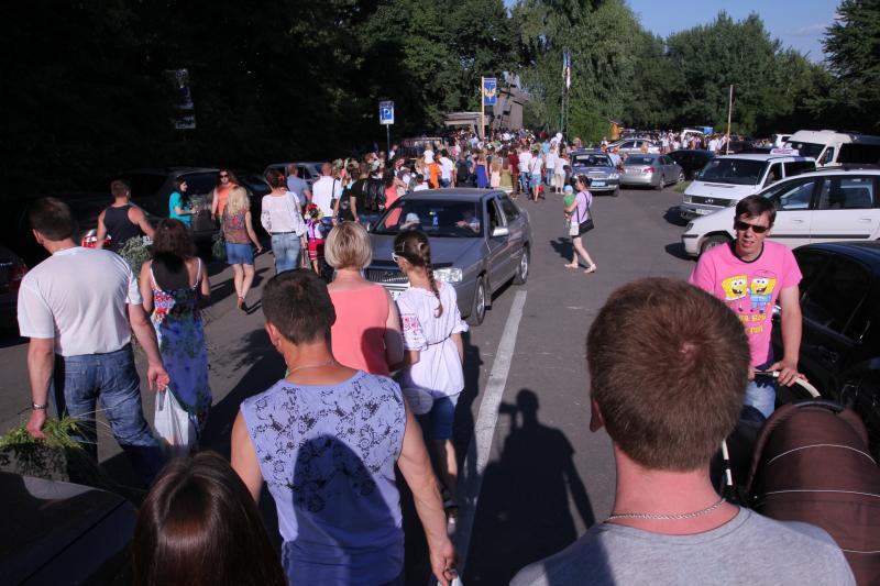 Ивана Купала в Пирогово в Киеве, как проходит праздник и стоит ли туда идти. Отзыв о посещении 2014