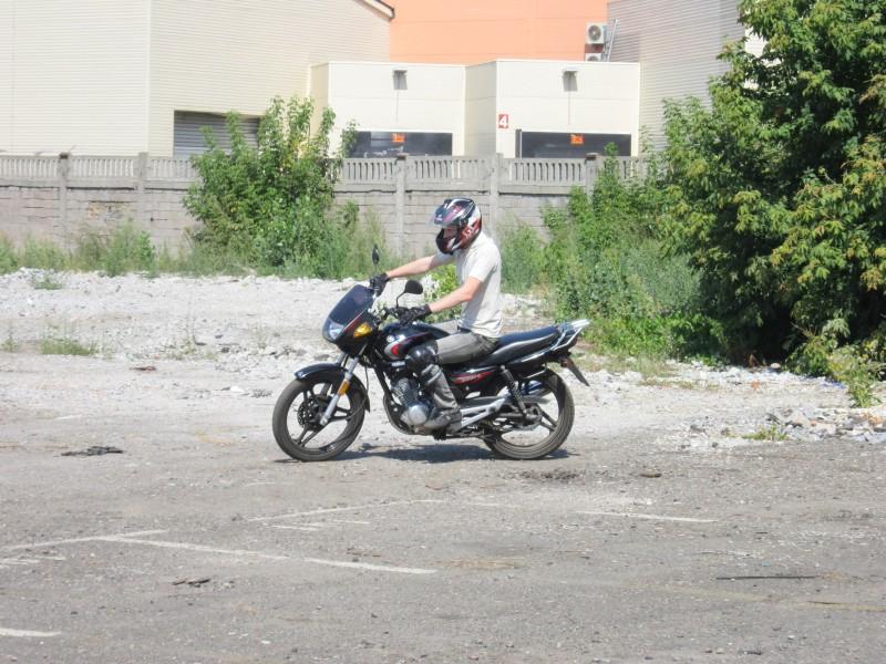 ПроБайкер(pro-biker.com.ua) - мотошкола в Киеве. Отзыв о пробном занятии