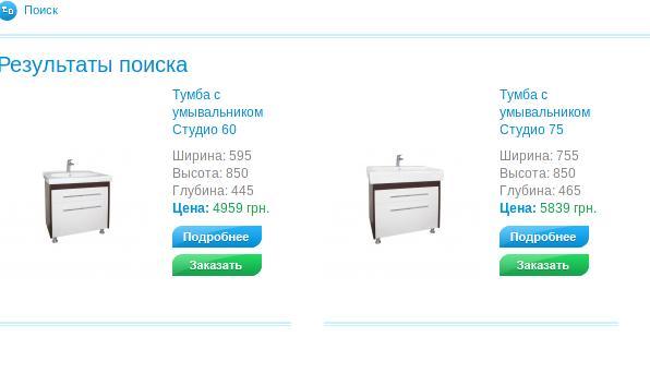 Аква Родос - мебель для ванной которая боится воды. Отзыв о тумбочке для ванной Студио 60